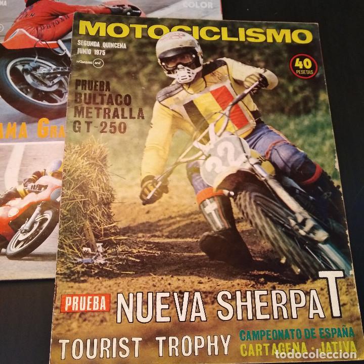Coches y Motocicletas: Motociclismo - 3 Revistas - 1975 - Quincenales - Revista - Jarama Gran Premio - Bultaco - Foto 7 - 166454410