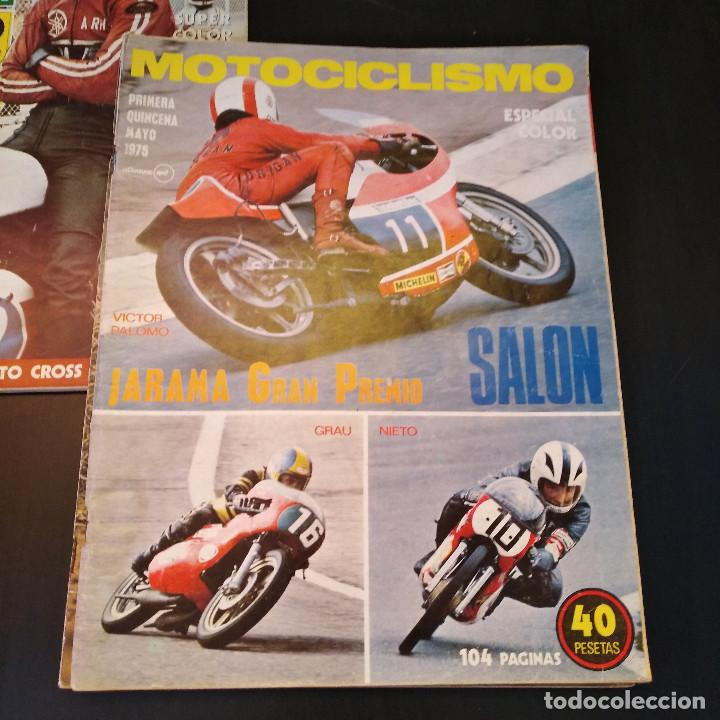 Coches y Motocicletas: Motociclismo - 3 Revistas - 1975 - Quincenales - Revista - Jarama Gran Premio - Bultaco - Foto 8 - 166454410
