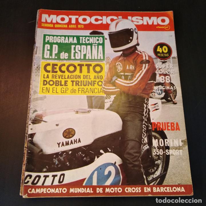 Coches y Motocicletas: Motociclismo - 3 Revistas - 1975 - Quincenales - Revista - Jarama Gran Premio - Bultaco - Foto 9 - 166454410