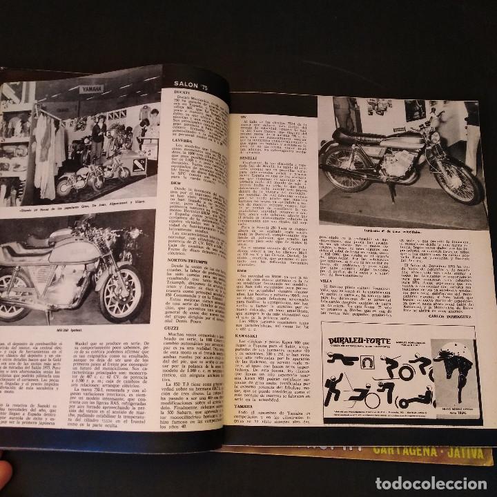 Coches y Motocicletas: Motociclismo - 3 Revistas - 1975 - Quincenales - Revista - Jarama Gran Premio - Bultaco - Foto 12 - 166454410