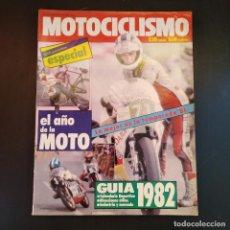 Coches y Motocicletas: MOTOCICLISMO NÚMERO 734 ESPECIAL - GUÍA 1982 - EL AÑO DE LA MOTO - RARO. Lote 166846622