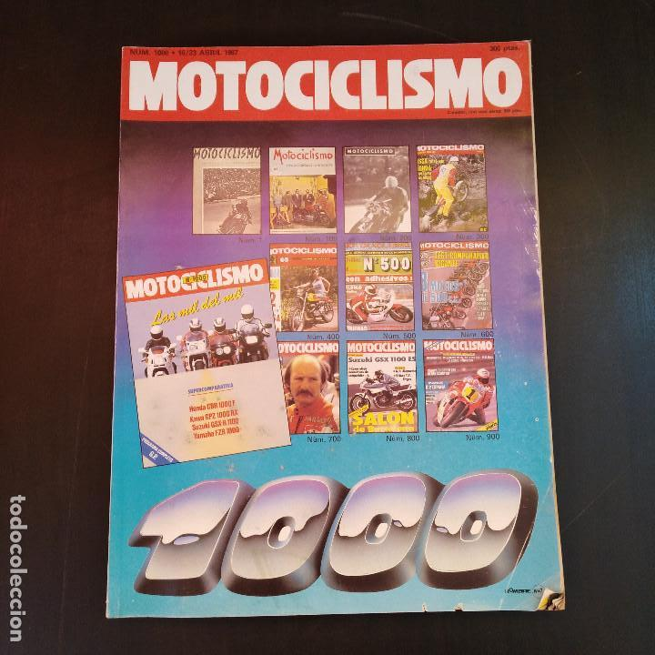 Coches y Motocicletas: Motociclismo 1000 - Año 1987 - Nº1000 Especial - Sumario 1951-87 - Raro - Foto 9 - 166847650