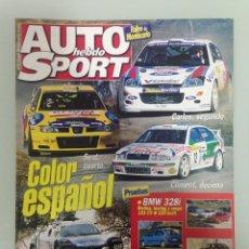 Coches y Motocicletas: AUTO HEBDO SPORT 751, RALLY MONTECARLO,DAKAR-EL CAIRO,BMW 318I, VW LUPO . Lote 166987940