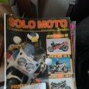 Coches y Motocicletas: REVISTA SOLO MOTO 30 57 * HONDA VFR 750 R + SUZUKI GSX 1100 FJ + HONDA NTV 650 * 67. Lote 167026680
