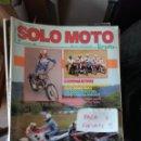 Coches y Motocicletas: REVISTA SOLO MOTO 30 66 * HONDA CBR 1000 + KAWASAKI ZX-10 + COMP TRAIL - MAXI * 67. Lote 167026800