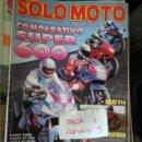 Coches y Motocicletas: REVISTA SOLO MOTO 30 134 * DUCATI 916 + HARLEY TURBO + HARLEY VR 1000 + TRAJES DE LLUVIA * 67. Lote 167026892