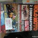 Coches y Motocicletas: REVISTA SOLO MOTO 30 172 * APRILIA PEGASO + HONDA CBR 900 RR + KAWASAKI ZX-9R * 67. Lote 167027020