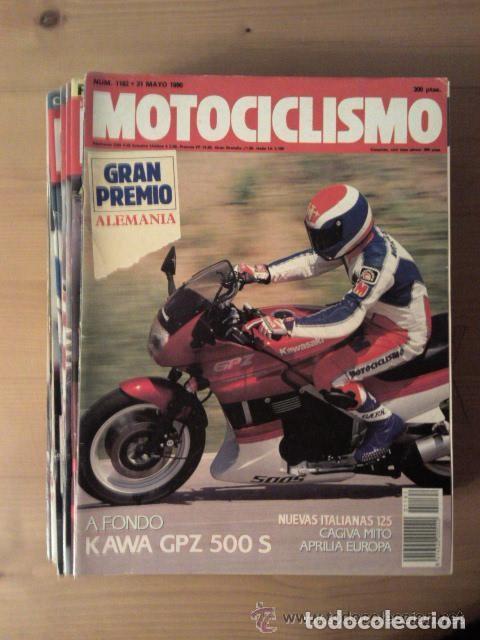 Coches y Motocicletas: REVISTA MOTOCICLISMO, AÑOS 80 Y 90, VER NUMEROS - Foto 2 - 167126612