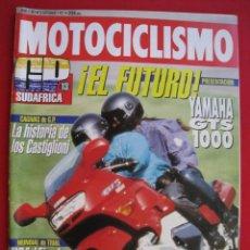 Coches y Motocicletas: REVISTA MOTOCICLISMO - Nº 1281 - 10 SEPTIEMBRE 1992.. Lote 167549508