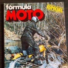Coches y Motocicletas: REVISTA ESPECIAL FORMULA MOTO OSSA SUPER PIONER 250. Lote 167586948