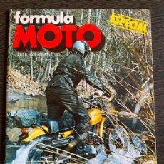 Coches y Motocicletas: REVISTA ESPECIAL FORMULA MOTO OSSA SUPER PIONER 250. Lote 167587036