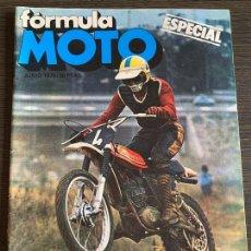 Coches y Motocicletas: REVISTA ESPECIAL FORMULA MOTO MONTESA CAPPRA 125 CROSS. Lote 167587124