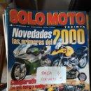 Coches y Motocicletas: REVISTA SOLO MOTO 30 199 * DUCATI MONSTER 750 + SUZUKI SV 650 N + SUZUKI GSX 750 * 67. Lote 168063204