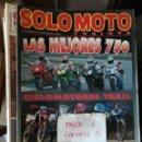 Coches y Motocicletas: REVISTA SOLO MOTO 30 133 * STORZ 883 R + BIMOTA SB-6 1100 + LAS MEJORES 750 * 67. Lote 168063336