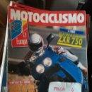 Coches y Motocicletas: REVISTA MOTOCICLISMO 1217 * KAWASAKI ZXR 750 + GILERA RC 600 + KTM GS 600 LC * 67. Lote 168063436