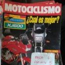 Coches y Motocicletas: REVISTA MOTOCICLISMO 1241 * HONDA CBR 900 RR + GUZZI DAYTONA + YAMAHA DIVERSION XJ600 * 67. Lote 168063480