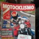 Coches y Motocicletas: REVISTA MOTOCICLISMO 1216 * SUZUKI BANDIT 400 + HONDA CBR 600 F + YAMAHA FZR 600 * 67. Lote 168063560
