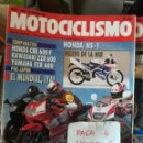 Coches y Motocicletas: REVISTA MOTOCICLISMO 1204 * HONDA NS-1 + HONDA CBR 600 F + KAWASAKI ZZR 600 + YAMAHA FZR 600 * 67. Lote 168063644