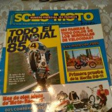 Coches y Motocicletas: REVISTA SOLO MOTO N° 35 ESPECIAL. Lote 168476029
