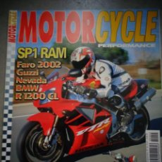 Coches y Motocicletas: REVISTA MOTOR CYCLE MOTORCYCLE NUMERO 45 SEPTIEMBRE 2002. Lote 168819536