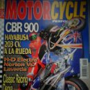 Coches y Motocicletas: REVISTA MOTOR CYCLE MOTORCYCLE NUMERO 42 JUNIO 2002. Lote 168819800