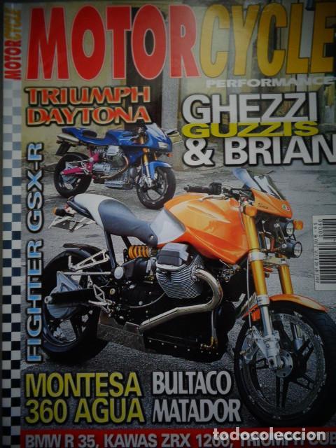 REVISTA MOTOR CYCLE MOTORCYCLE NUMERO 40 ABRIL 2002 (Coches y Motocicletas - Revistas de Motos y Motocicletas)