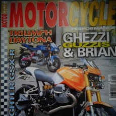 Coches y Motocicletas: REVISTA MOTOR CYCLE MOTORCYCLE NUMERO 40 ABRIL 2002. Lote 168820124