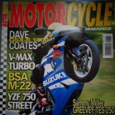Coches y Motocicletas: REVISTA MOTOR CYCLE MOTORCYCLE NUMERO 39 MARZO 2002. Lote 168820360