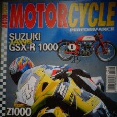 Coches y Motocicletas: REVISTA MOTOR CYCLE MOTORCYCLE NUMERO 38 FEBRERO 2002. Lote 168820524