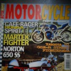 Coches y Motocicletas: REVISTA MOTOR CYCLE MOTORCYCLE NUMERO 37 ENERO 2002. Lote 168821000
