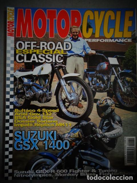 REVISTA MOTOR CYCLE MOTORCYCLE NUMERO 34 OCTUBRE 2001 (Coches y Motocicletas - Revistas de Motos y Motocicletas)