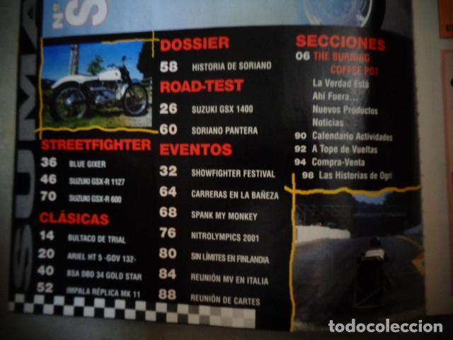 Coches y Motocicletas: REVISTA MOTOR CYCLE MOTORCYCLE NUMERO 34 OCTUBRE 2001 - Foto 2 - 168821432