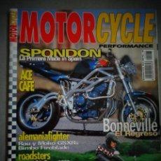 Coches y Motocicletas: REVISTA MOTOR CYCLE MOTORCYCLE NUMERO 23 NOVIEMBRE 2000. Lote 168823008