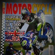 Coches y Motocicletas: REVISTA MOTOR CYCLE MOTORCYCLE NUMERO 35 NOVIEMBRE 2001. Lote 168823216