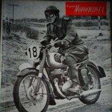 Coches y Motocicletas: REVISTA ESPAÑA MOTOCICLISTA NUMERO 38 DICIEMBRE 1954. Lote 168892828