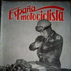 Coches y Motocicletas: REVISTA ESPAÑA MOTOCICLISTA NUMERO 74 DICIEMBRE 1957. Lote 168902828