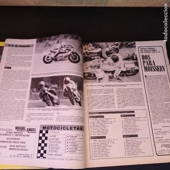 Coches y Motocicletas: Motociclismo - 7 Agosto 1977 - Nº 522 - Pileri Estalla - Tamaño Extra - Raro - Foto 3 - 168994796