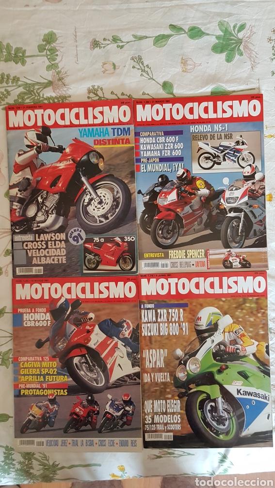 LOTE REVISTAS MOTOCICLISMO 1991 (Coches y Motocicletas - Revistas de Motos y Motocicletas)