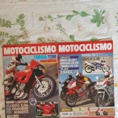 Coches y Motocicletas: LOTE REVISTAS MOTOCICLISMO 1991. Lote 169024194