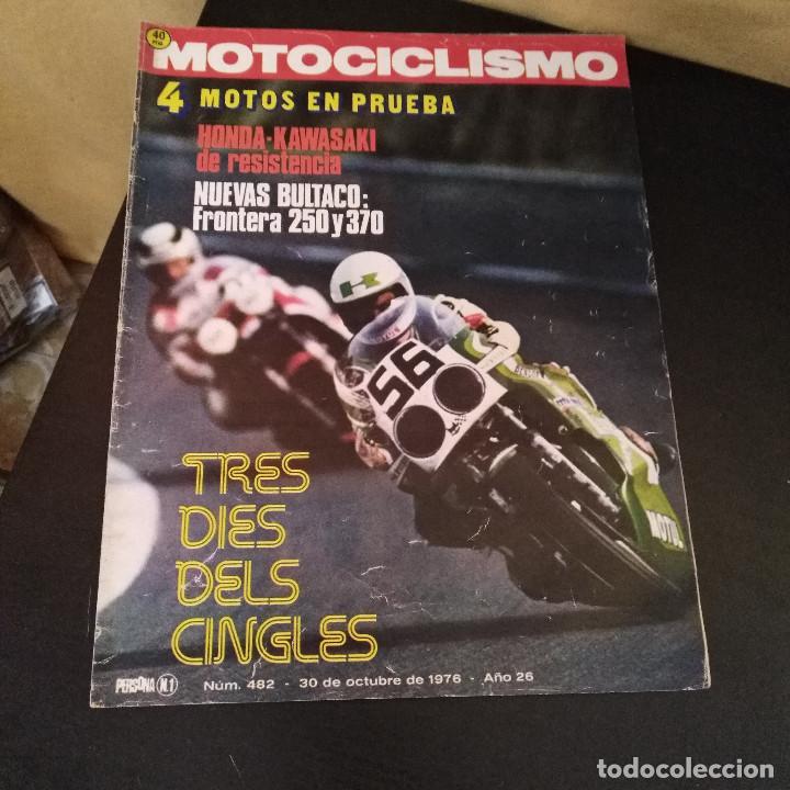 Coches y Motocicletas: Lote 20 Revistas Motociclismo 1976 Nº444 - 482 - Muy Raras - Nieto - Motos - Foto 5 - 169059700