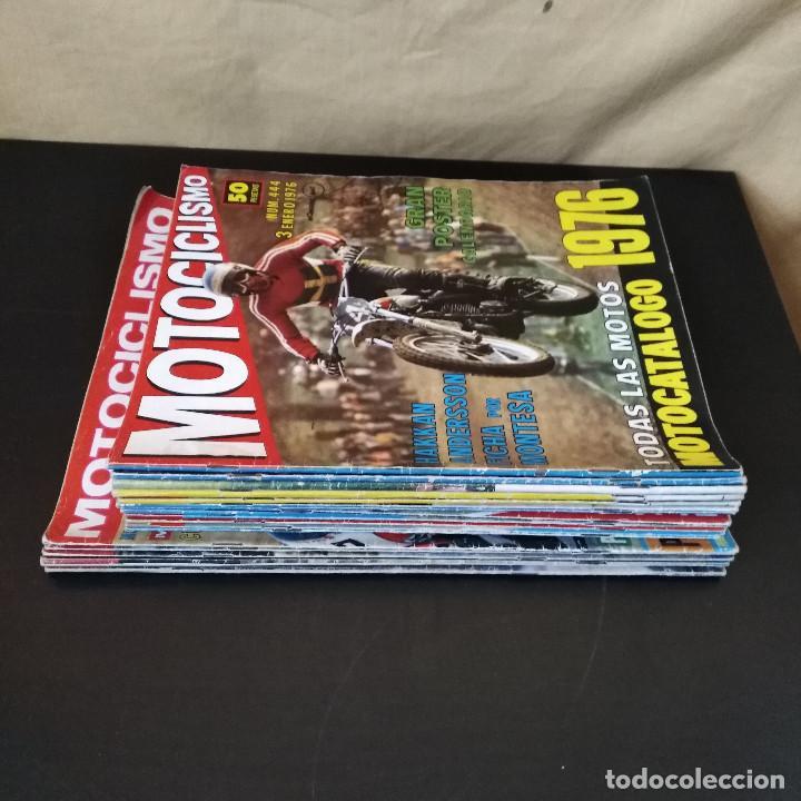 Coches y Motocicletas: Lote 20 Revistas Motociclismo 1976 Nº444 - 482 - Muy Raras - Nieto - Motos - Foto 8 - 169059700