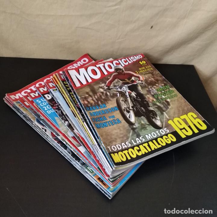 Coches y Motocicletas: Lote 20 Revistas Motociclismo 1976 Nº444 - 482 - Muy Raras - Nieto - Motos - Foto 9 - 169059700