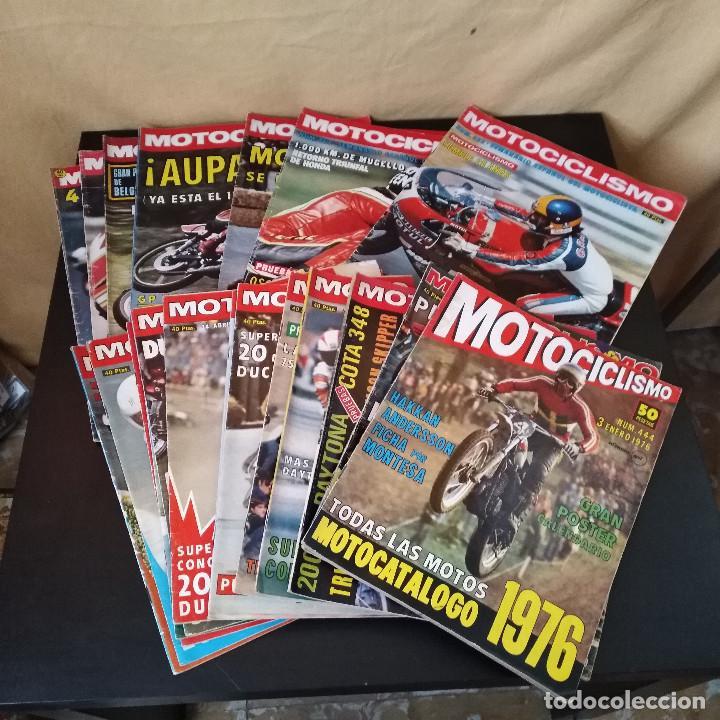 Coches y Motocicletas: Lote 20 Revistas Motociclismo 1976 Nº444 - 482 - Muy Raras - Nieto - Motos - Foto 10 - 169059700