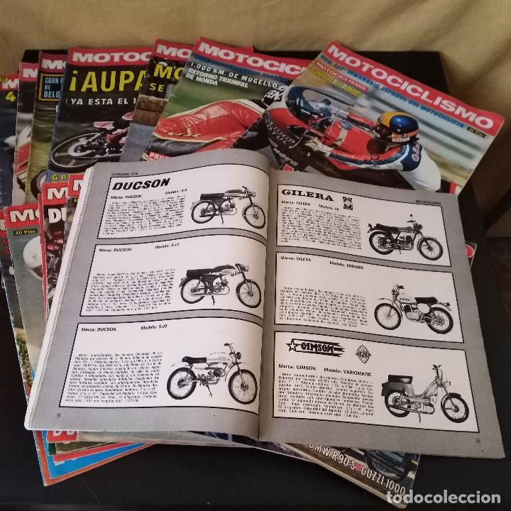 Coches y Motocicletas: Lote 20 Revistas Motociclismo 1976 Nº444 - 482 - Muy Raras - Nieto - Motos - Foto 11 - 169059700