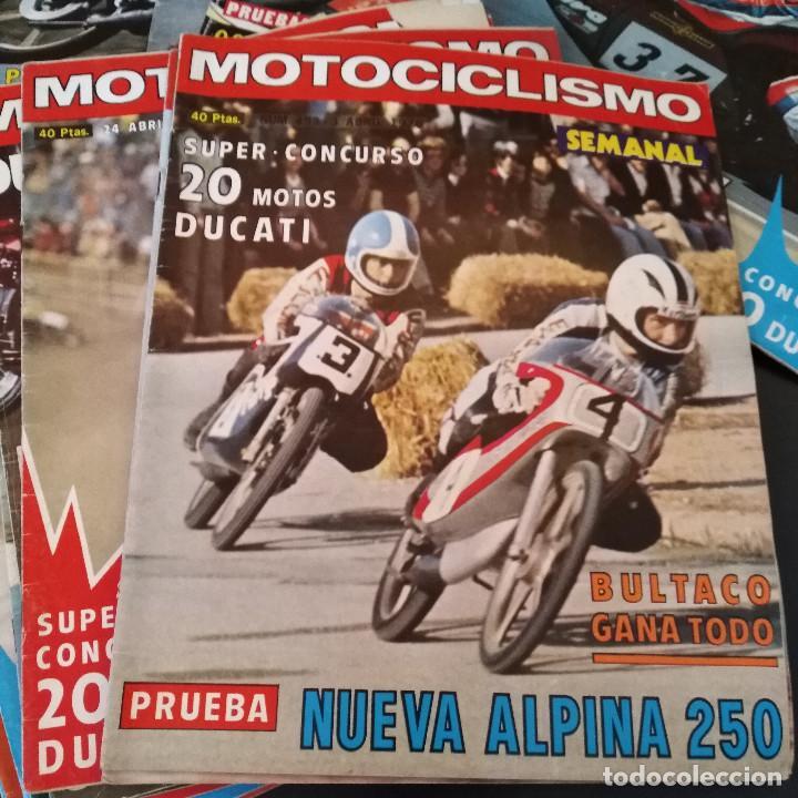 Coches y Motocicletas: Lote 20 Revistas Motociclismo 1976 Nº444 - 482 - Muy Raras - Nieto - Motos - Foto 16 - 169059700