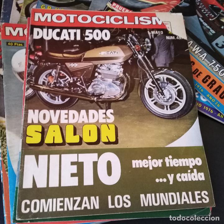 Coches y Motocicletas: Lote 20 Revistas Motociclismo 1976 Nº444 - 482 - Muy Raras - Nieto - Motos - Foto 19 - 169059700