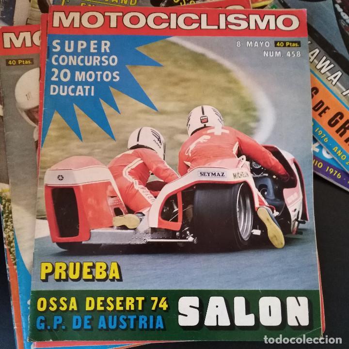 Coches y Motocicletas: Lote 20 Revistas Motociclismo 1976 Nº444 - 482 - Muy Raras - Nieto - Motos - Foto 20 - 169059700