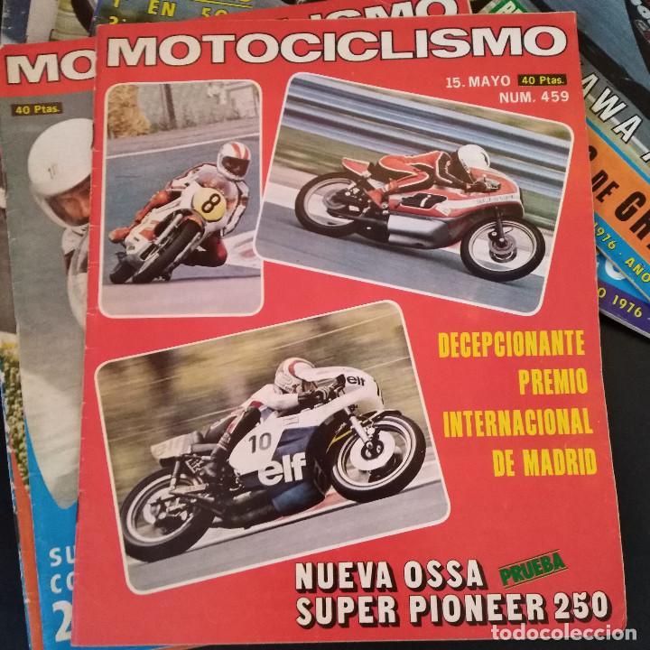 Coches y Motocicletas: Lote 20 Revistas Motociclismo 1976 Nº444 - 482 - Muy Raras - Nieto - Motos - Foto 21 - 169059700
