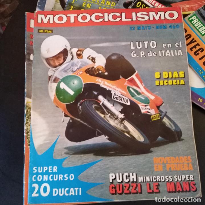 Coches y Motocicletas: Lote 20 Revistas Motociclismo 1976 Nº444 - 482 - Muy Raras - Nieto - Motos - Foto 22 - 169059700