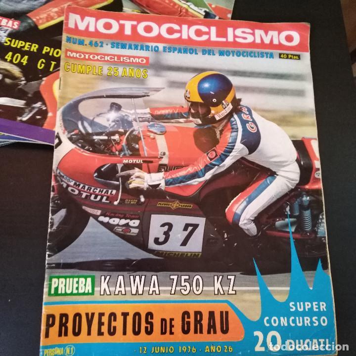 Coches y Motocicletas: Lote 20 Revistas Motociclismo 1976 Nº444 - 482 - Muy Raras - Nieto - Motos - Foto 24 - 169059700